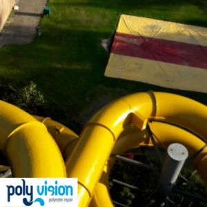 glijbaancoating optisport sonsbeeck in breda, polyester glijbaancoating, coaten polyester glijbaan, polyester reparatie, renovatie, onderhoud, polyester herstel