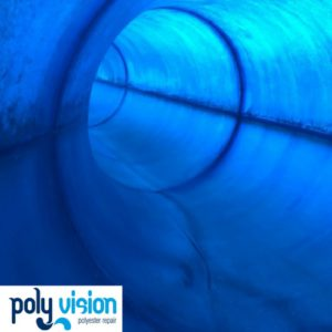 polyester reparatie, polyester renovatie, polyester onderhoud, polyester coating, polyester herstel, polyester waterglijbaan