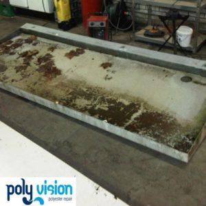 polyester reparatie luifel, polyester herstel