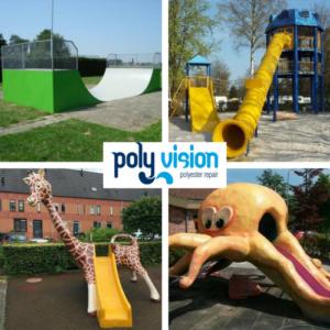 polyester reparatie speeltoestel, polyester renovatie speeltoestel, polyester onderhoud speeltoestel, polyester reparatie skatebaan, polyester renovatie skatebaan, polyester onderhoud skatebaan, polyester herstel