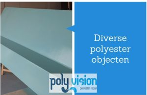 polyester reparatie dak, luifel, boeideel, gevel
