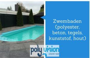 polyester reparatie, zwembadcoating, zwembadrenovatie