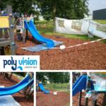 polyester reparatie op locatie speeltoestel, polyester reparatie, renovatie, onderhoud, polyester herstel