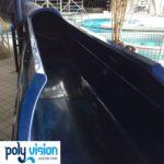 onderhoud, reparatie en aanpassen polyester waterglijbaan