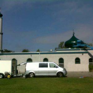 polyester reparatie moskee, polyester herstel