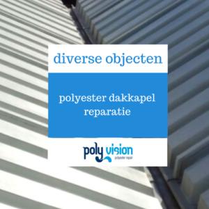 polyester reparatie, polyester renovatie, polyester onderhoud, polyester dakkapel reparatie