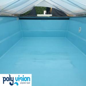 polyester zwembadrenovatie zwembadcoating Starline zwembad