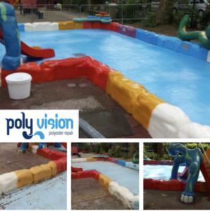 polyester reparatie zwembad