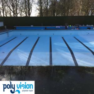 zwembadrenovatie/zwembadcoating betonnen zwembad