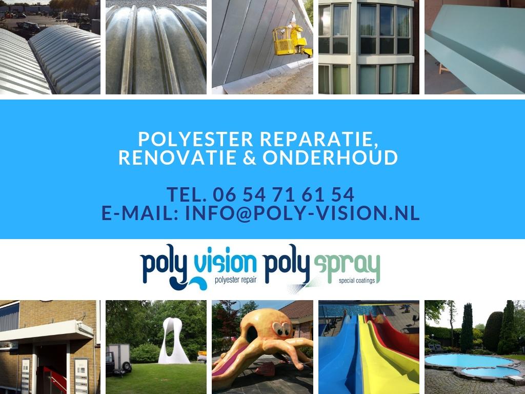 polyester reparatie bedrijf
