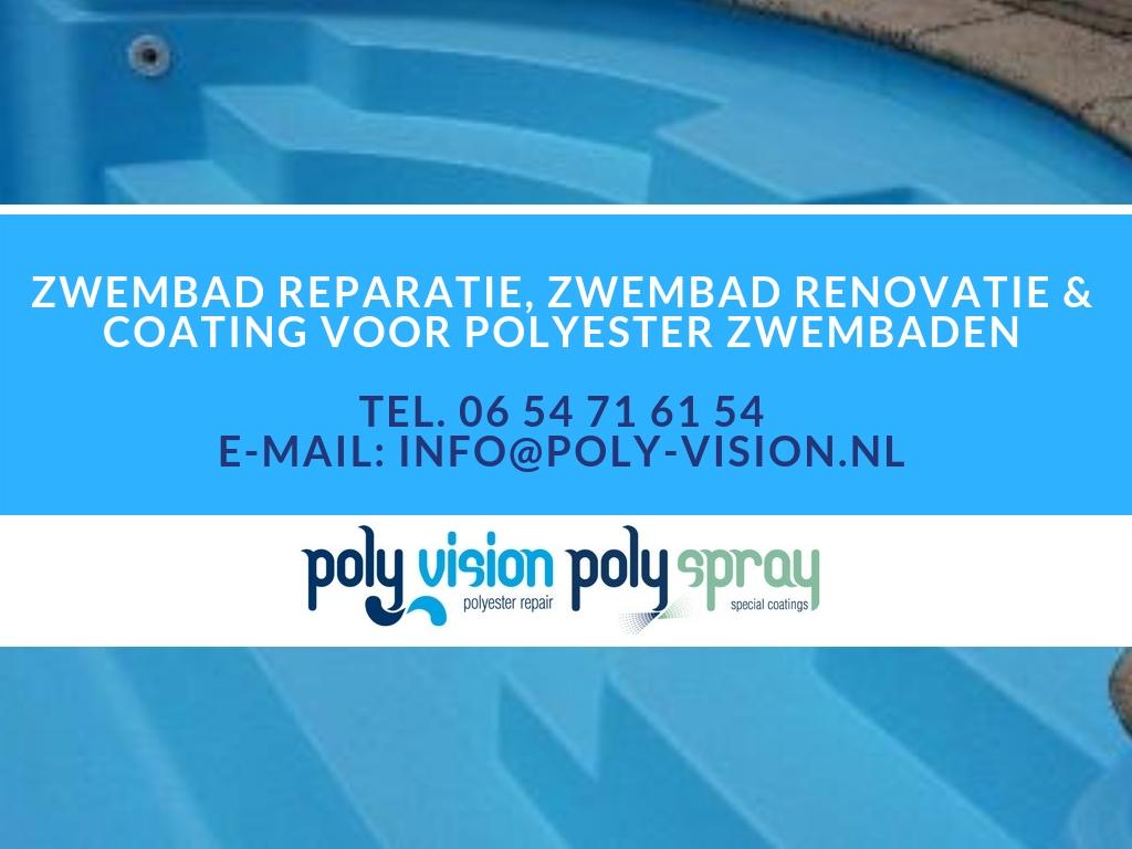 Zwembad reparatie en renovatie met waterdichte zwembadcoating