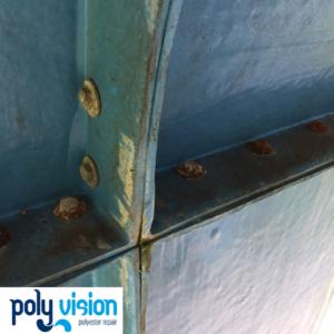 coating en onderhoud polyester waterglijbaan De Wetering