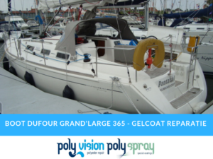 gelcoat reparatie boot