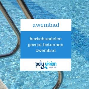 Herbehandelen gecoat betonnen zwembad, zwembadblog