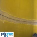 onderhoud en reparatie polyester waterglijbaan