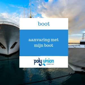 Ik heb een aanvaring gehad met mijn boot, polyester reparatie blog