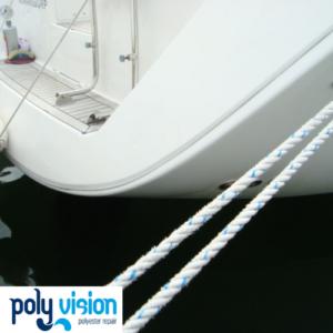 Polyester reparatie boot - herstel gelcoat schade Dufour Grand'Large 365