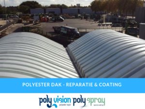 polyester reparatie dak