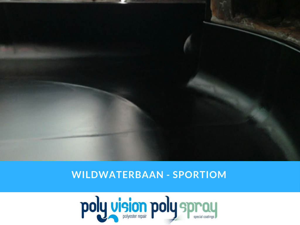 coating wildwaterbaan, renoveren wildwaterbaan