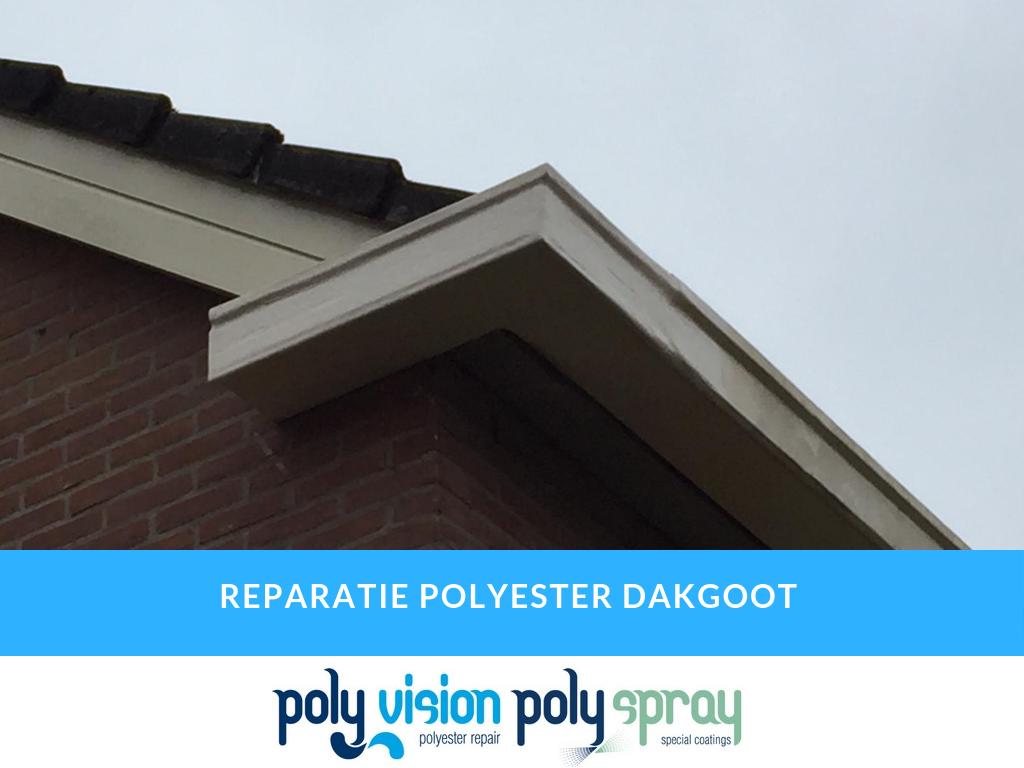 polyester reparatie dakgoot
