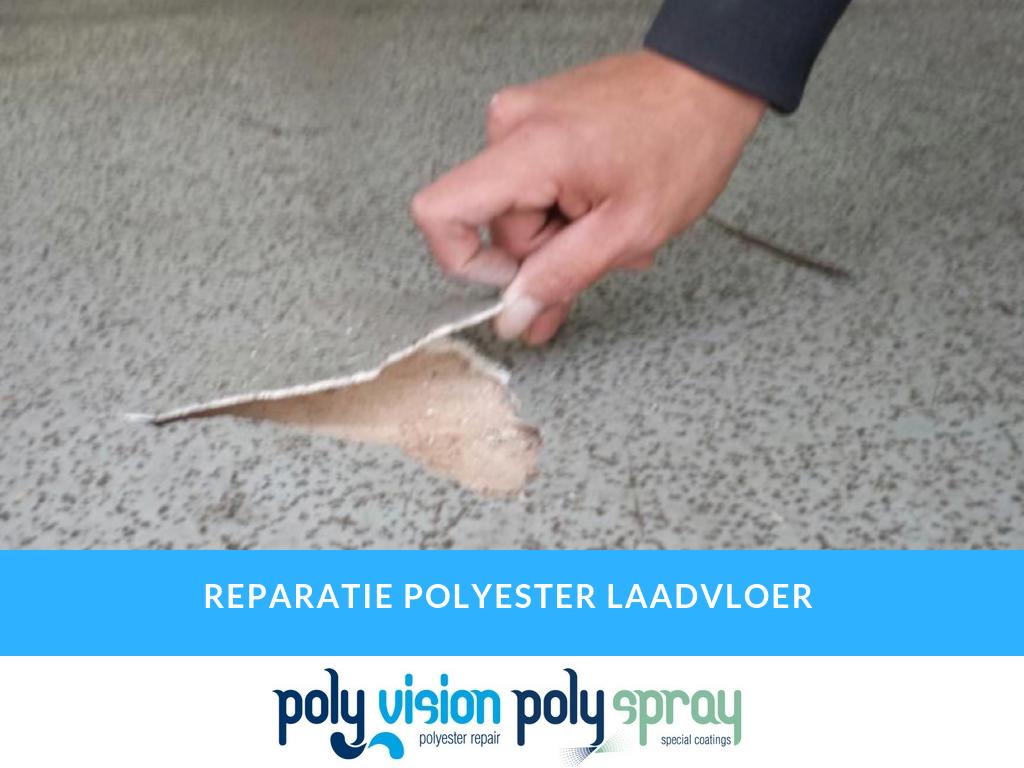 polyester reparatie laadvloer