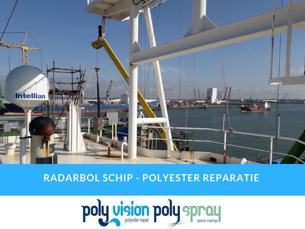 polyester reparatie boot, polyester boot repareren