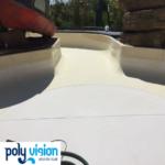 onderhoud, reparatie, coating polyester waterglijbaan en wildwaterbaan