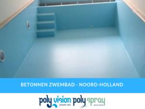renovatie/coating betonnen zwembad