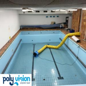 zwembadrenovatie, zwembadcoating betonnen/betegeld zwembad noord-holland