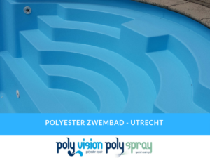 renovatie/coating polyester zwembad Starline