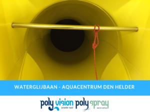 gelcoat reparatie polyester waterglijbaan