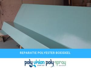 polyester reparatie boeideel/dakrand