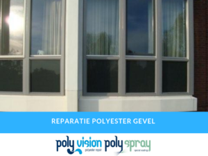 polyester reparatie gevel