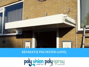 polyester reparatie luifel