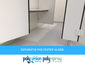 polyester reparatie vloer