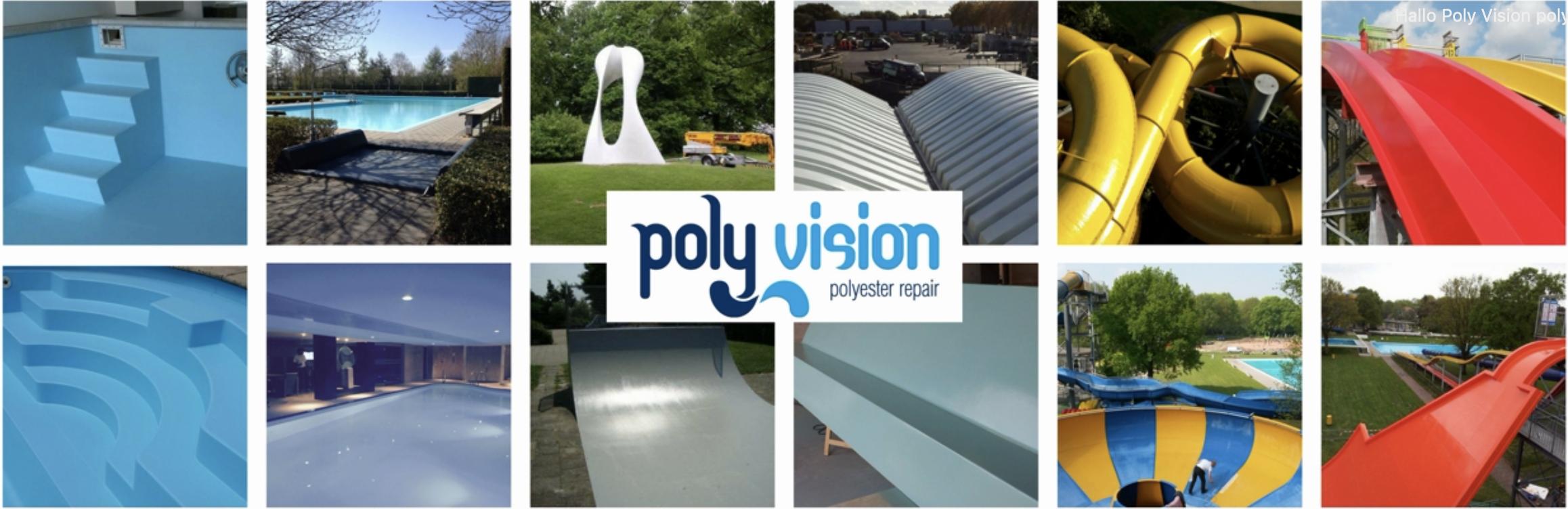 Polyester reparatie van elk object van polyester
