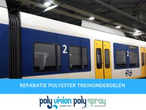 polyester reparatie trein