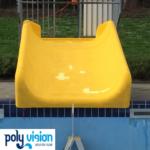 polyester reparatie en coating waterglijbaan